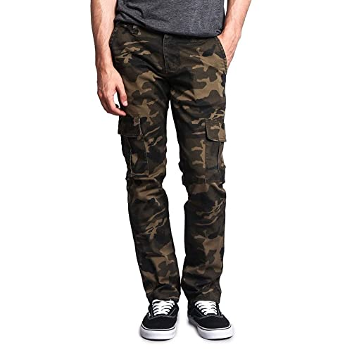 17bc876720aa54 Victorious G-Style USA Mens Camouflage Skinny Fit Jeans