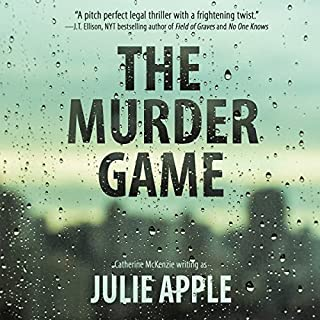 The Murder Game                   By:                                                                                                                                 Catherine McKenzie writing as Julie Apple                               Narrated by:                                                                                                                                 Teri Clark Linden                      Length: 9 hrs and 9 mins     Not rated yet     Overall 0.0
