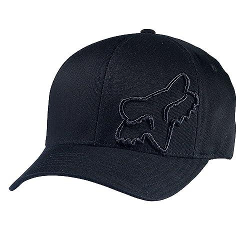 wholesale dealer 403c7 b8b49 Fox Flex 45 Flexfit Hat - 58379 (Black - S M)