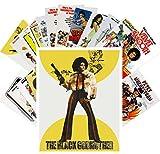 Postcard Set 24 cards Blaxploitation Ladies Vintage Trash Movie Posters Ads