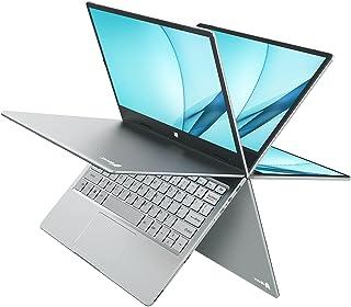 BMAX 2-in-1 タッチスクリーン 軽量 薄型 ノートパソコン 2.4GHz Gemini Lake N4100、 CPU 2133 MHz 、8GB LPDDR4 RAM、 256GB M.2 SSD 、11.6 インチ フル HD I...