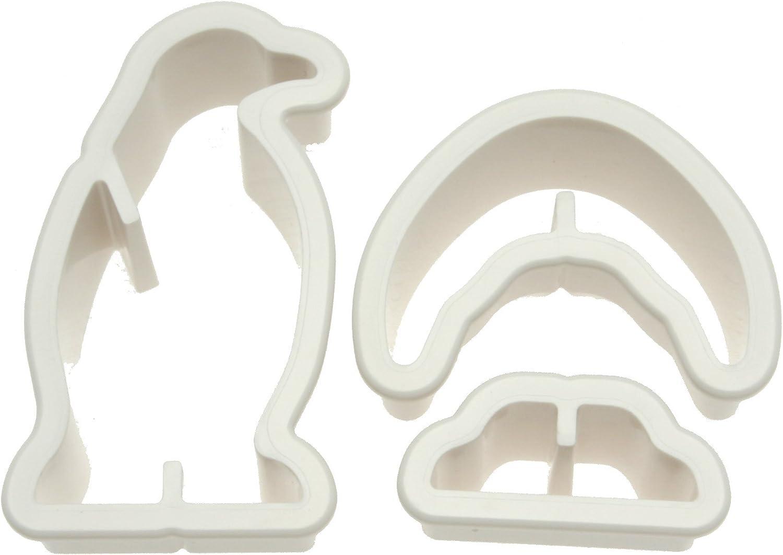 Kotobuki 450-035 Veggie Shapers 3D Cutter Recommendation Complete Free Shipping Vegetable Penguin
