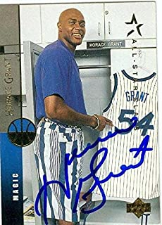 Horace Grant autographed Basketball card (Orlando Magic) 1994 Upper Deck #155 - Basketball Autographed Cards