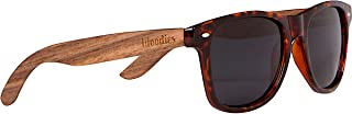 Walnut Wood Polarized Sunglasses with Tortoise Shell Frame