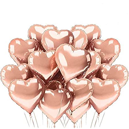 71 cm Or Rose Jumbo Heart Foil Balloon anniversaire St-Valentin New Years Party