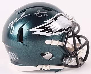 Zach Ertz Philadelphia Eagles Signed Autograph Speed Mini Helmet Helmet Certified