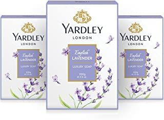 Yardley English Lavender Luxury Soap (100 gm) Pack of 3