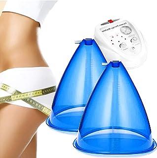 Blauwe Billen Opheffing Vibratiemassage Zuignap (180 Ml), Vacuüm Lichaamsvormende Stimulator, Grote Vacuümkop Voor Heuphef...