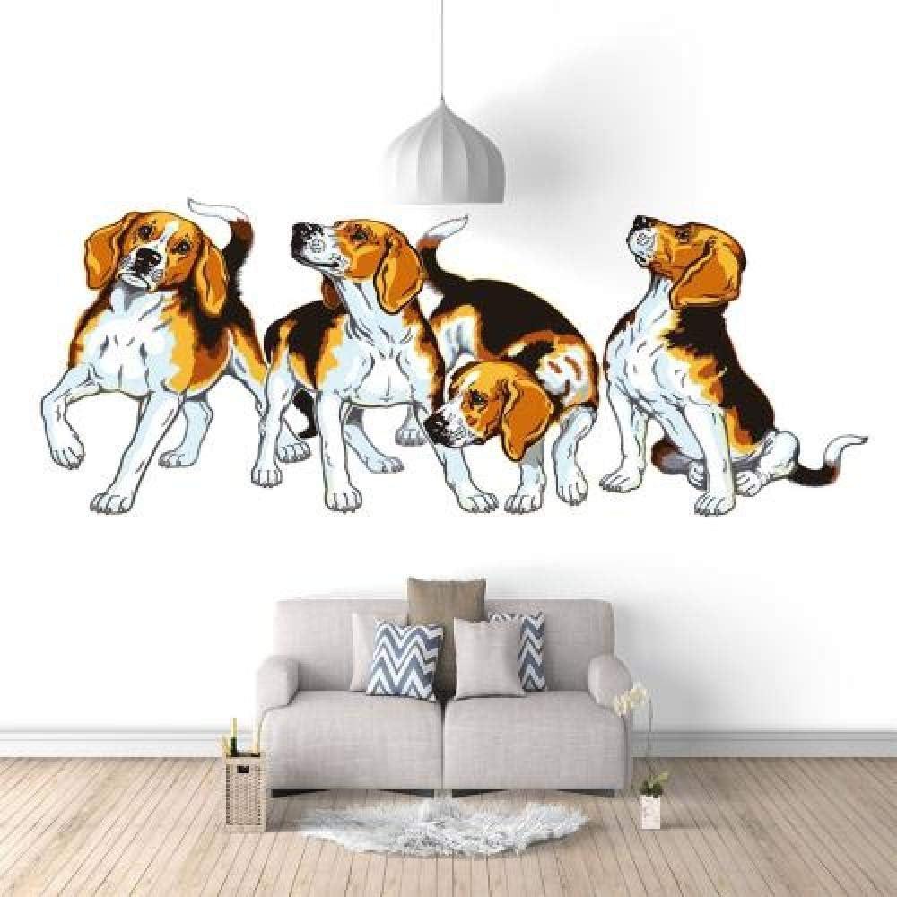 Wall New York Mall Mural Cartoon Price reduction Animal Dog Wallpaper 157