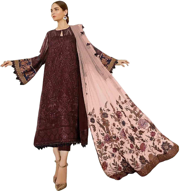 stylishfashion Reception Wear Pakistani Indian Beautiful Designer Salwar Kameez Pant Dupatta Suits