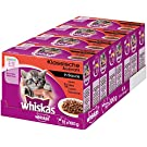 whiskas Junior <1 Wet Food for Cats, Classic Selection in Sauce, 48 Portion Sachets (4 x 12 x 100 g)
