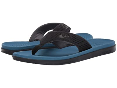 Quiksilver Haleiwa Plus (Black/Blue/Black) Men