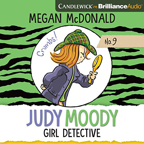 Judy Moody, Girl Detective audiobook cover art