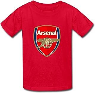 Kid's Funny Arsenal Logo T-Shirts by Mjensen
