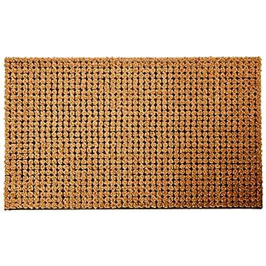 Envelor Home and Garden Coco Coir Cluster Outdoor Welcome Doormat 18 x 30 Inches Entrance Doormat