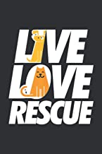 Live Love Rescue: Dog Lover Gifts For Women Under 10.00, My Dream Journal Notebook, Notebook Dream Journal For Business Man