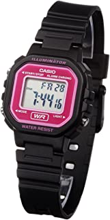 90f09b561d2 Relógio Feminino Digital Casio LA-20WH-4ADF - Preto Lilás