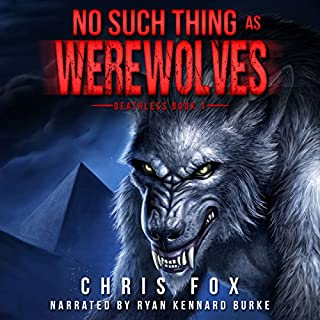No Such Thing As Werewolves audiobook cover art