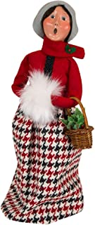 Byers' Choice Evergreen Woman Caroler Figurine #1181W from The Specialty Families Collection