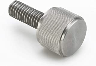 12 Nylon Thumb Screws with Shoulder White 1 1//2, Knurled Head 1//4,-20 Thread