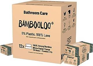 Bambooloo Naturally Sustainable 100% Virgin Bamboo Facial Tissues. Bambooloo Bamboo Facial Tissues. 12 individual boxes pe...
