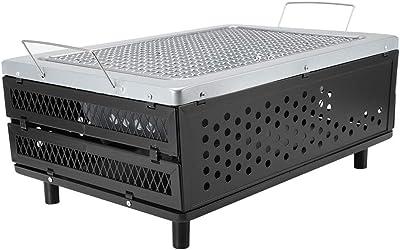 Amazon.com: HM – Barbacoa de carbón de cerámica para ...
