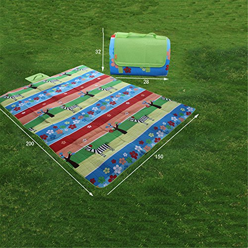 MONEYY The Picnic mat red and white format outdoor portable moisture pad tent picnic the picnic camping mats 300*364cm