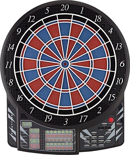 BULL'S Dartforce Russ Bray Sound Elektronik Dartboard, Mehrfarbig, Offizielle Turniergröße