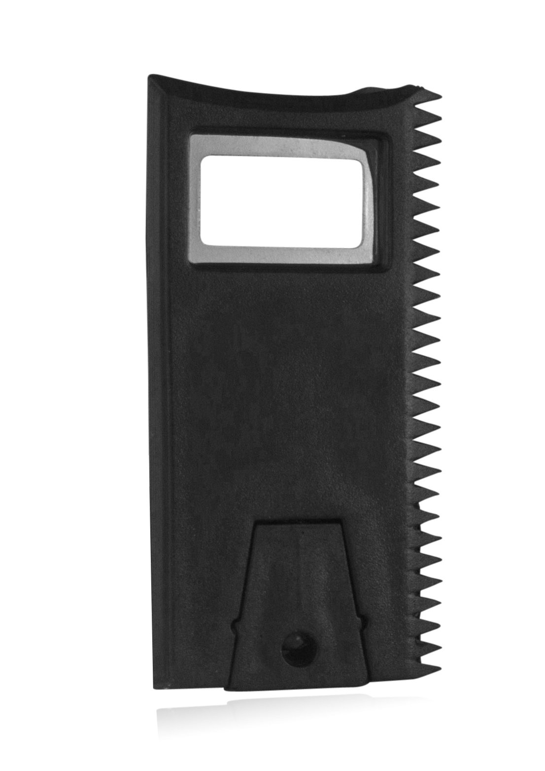 Surf Wax Comb & Scraper to Remove Unwanted Wax from Board and Restore Shine; Easy to Hold and Includes Built in Bottle…