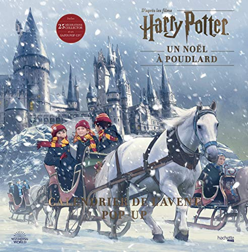 Calendrier de l'avent Pop-up Harry Potter: Un Noël à Poudlard