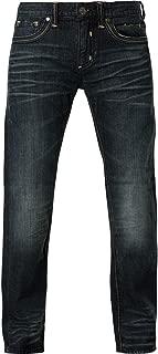 Blake Fleur Malcolm Relaxed Straight Leg Cut Fashion Denim Jeans Pants for Men