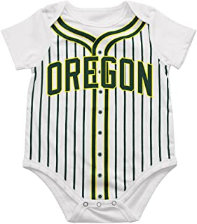 Colosseum Infant Oregon Ducks Fast Ball Bodysuit Set