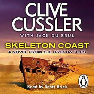 Skeleton Coast audiobook cover art