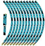 Design esclusivo. Ecoshirt AF-JHM2-1RD9 Adesivi Stickers Cerchione Rim Mavic Crosstrail Bike 27,5\
