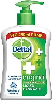 Dettol Original Germ Protection Handwash Liquid Soap Pump, 250ml