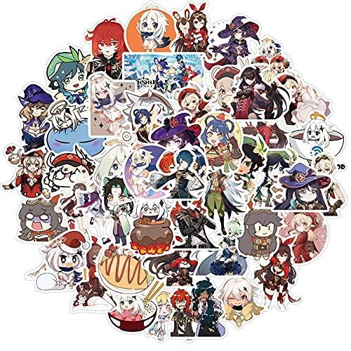SHUYE AnimeStickers Cartoon Graffiti Sticker For Laptop Cars Motorcycles Kawaii Game Decals Luggage Skateboard50Pcs
