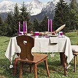 GWHOLE 4 Stück Tischdeckenbeschwerer Tischtuchhalter für Garten Drinnen und Draußen, Verschiedene Motive - 7