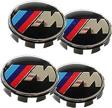 4pcs Wheel Center Caps Set fit B-M-W Emblem, Rim Center Hub Caps for All Models with Wheels