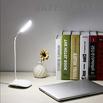 HappenWell Rechargeable LED Touch On/Off Switch Desk Lamp | Children Eye Protection and Student Study Reading Dimmer | Rechargeable Led Table Lamps USB Charging Touch Dimmer