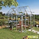 VERDEMAX 2275254x 249x 260cm, Grande Doritis Serra, Colore: Trasparente