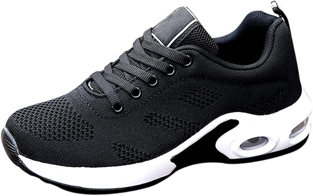 Xiedeai Sports Breathable Dance Shoes Women - Mens Mesh Lace Up Shoe Running Outdoor Sneakers Lightweight Slip Resistant Jazz Latin Ballroom