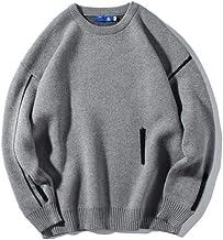 XIELH herfst/winter ronde hals trui mannen losse kleur bijpassende all-Match casual trui