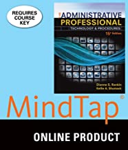 MindTap Office Technology for Rankin/Shumack's The Administrative Professional: Technology & Procedures, 15th Edition