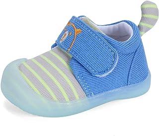 MK MATT KEELY Zapatos Bebé Niño Niña Primeros Pasos 0-2T Bebés Caminata Zapatillas Lindo Malla Antideslizante Transpirable...