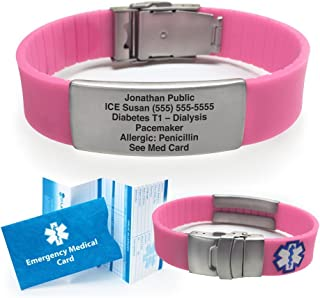 myid hive medical id bracelet