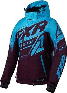FXR Womens Boost FX Jacket 2020 (Plum/Sky Blue - Size 6)
