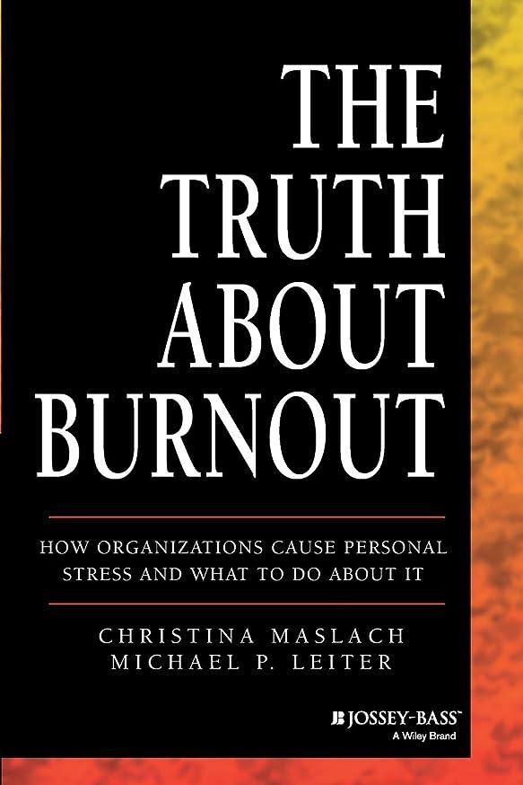 美人スリップ上流のThe Truth About Burnout: How Organizations Cause Personal Stress and What to Do About It
