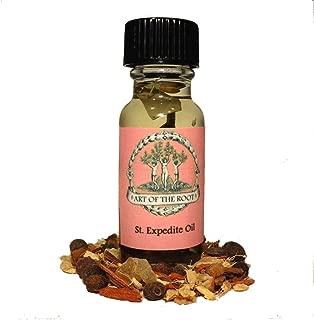St. Expedite Oil 1/2 oz Hoodoo Voodoo Wicca Pagan