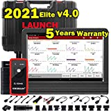 LAUNCH X431 V PRO 4.0 2021 Elite Ver. OE-Level Bi-Directional Scan Tool Full System Scanner,Key Programming,31+ Services,ECU Coding,Actuation Test,AutoAuth for FCA SGW,Guided Functions,Free Update