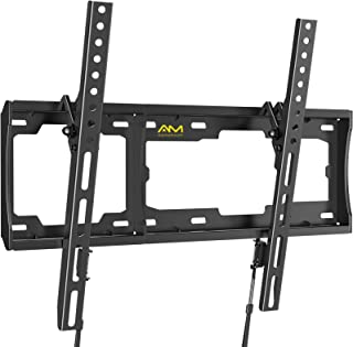 AM alphamount Tilting TV Wall Mount Bracket Fits 32-70 lnch LED LCD OLED Flat Screen/Curved TVs, Universal Low Profile Ult...